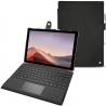 Custodia in pelle Microsoft Surface Pro 7
