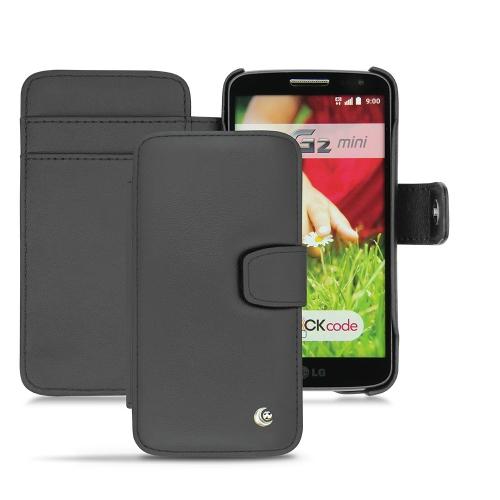 Lederschutzhülle LG G2 mini  - Noir ( Nappa - Black )