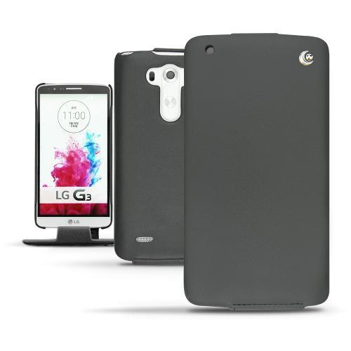 Housse cuir LG G3  - Noir ( Nappa - Black )