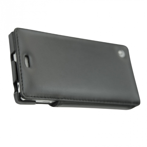 Housse cuir Sony Xperia M2