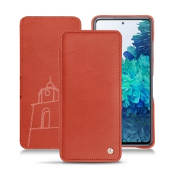 Samsung Galaxy S20 FE leather case
