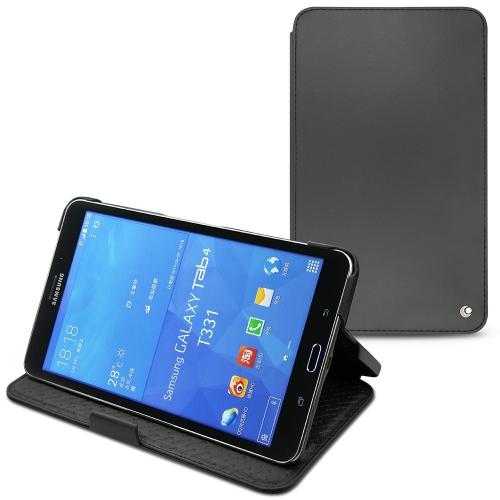 Samsung SM-T330 Galaxy Tab 4 8.0  leather case - Noir ( Nappa - Black )