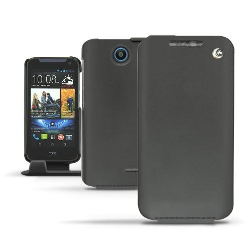 Funda de piel HTC Desire 310  - Noir ( Nappa - Black )