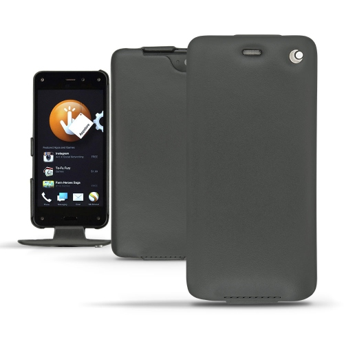 Amazon Fire Phone  leather case - Noir ( Nappa - Black )