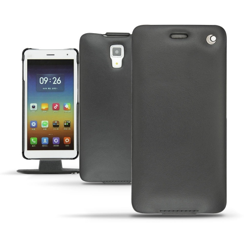 Xiaomi Mi 4  leather case - Noir ( Nappa - Black )