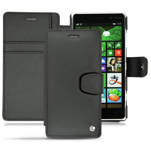 Nokia Lumia 830  leather case
