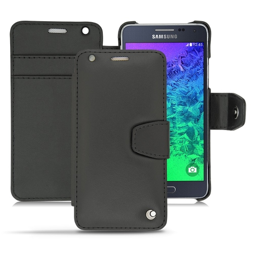 Samsung Galaxy Alpha  leather case