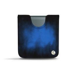 Samsung Galaxy Z Flip3 leather pouch - Blanc (  Nappa - White )