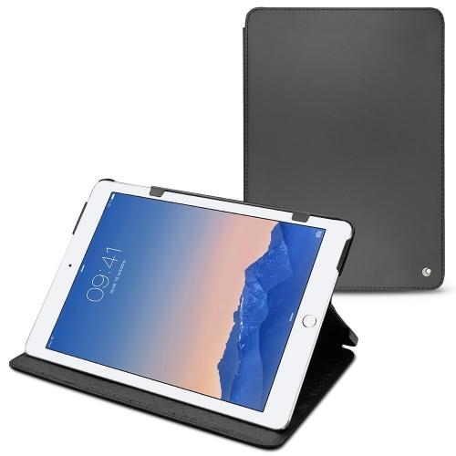 Apple iPad Air 2 leather case - Noir ( Nappa - Black )