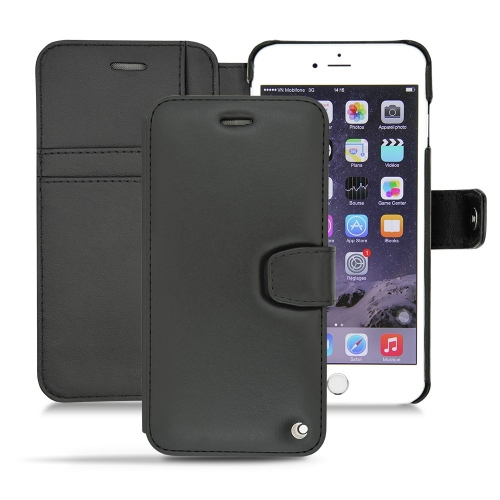 Housse cuir Apple iPhone 6 Plus - Noir ( Nappa - Black )