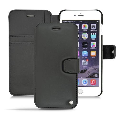 Housse cuir Apple iPhone 6  - Noir ( Nappa - Black )