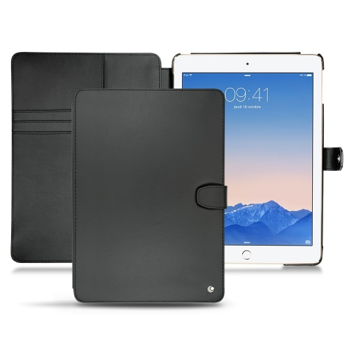 Apple iPad Air 2  leather case - Noir ( Nappa - Black )
