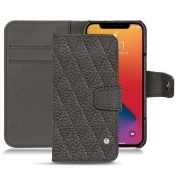 Apple iPhone 13 Pro Max leather case - Bleu ciel ( Nappa - Pantone 277C )