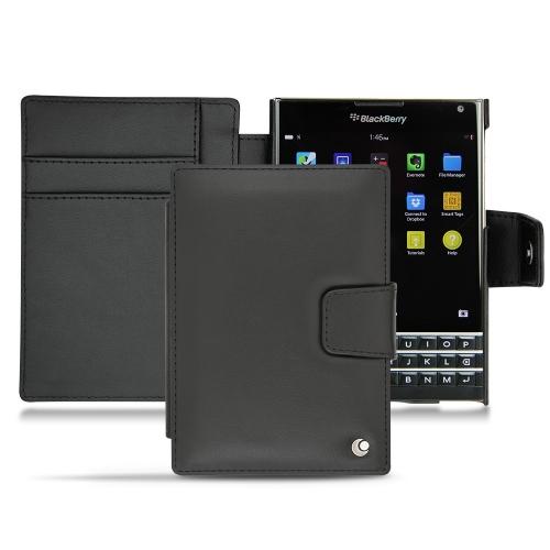 Housse cuir BlackBerry Passport