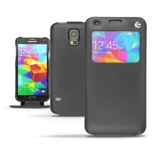 Samsung SM-G900 Galaxy S5 leather case
