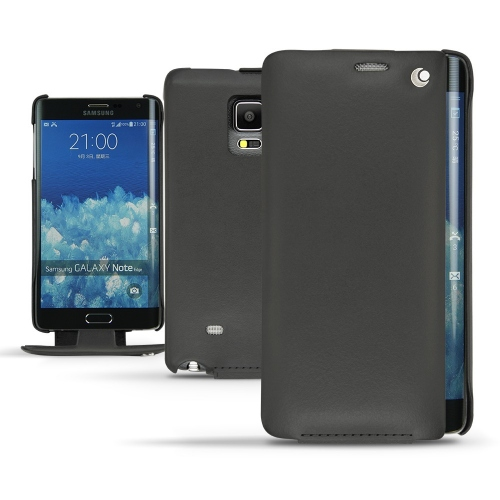 Housse cuir Samsung Galaxy Note Edge  - Noir ( Nappa - Black )