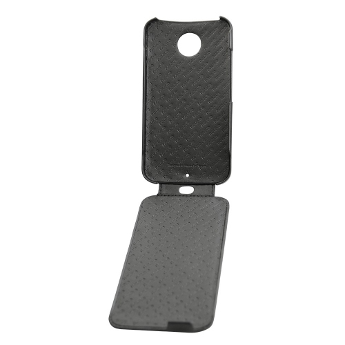 Housse cuir Motorola Moto X (2014)