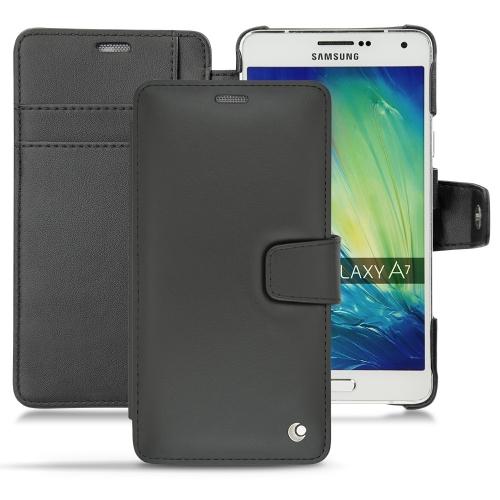 Samsung Galaxy A7 leather case