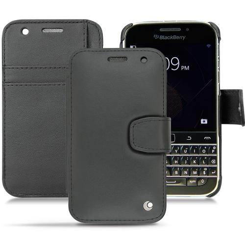 Housse cuir Blackberry Classic