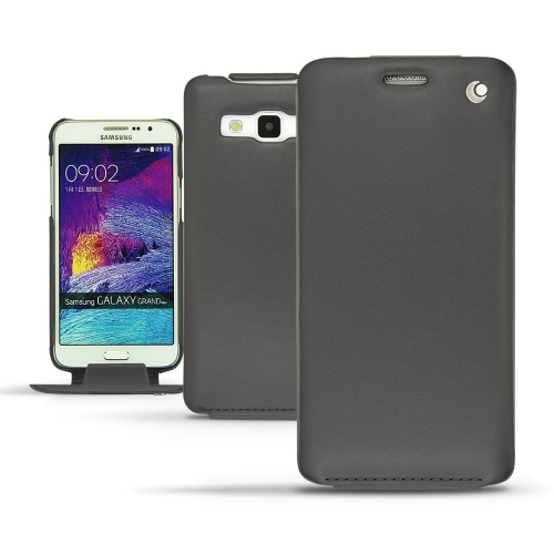 Lederschutzhülle Samsung Galaxy  Grand Max - Noir ( Nappa - Black )