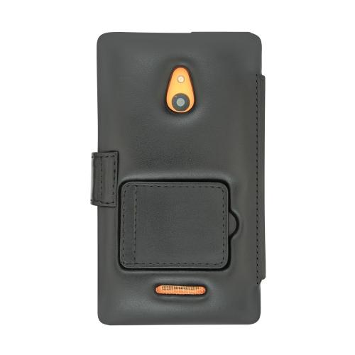 Housse cuir Nokia XL
