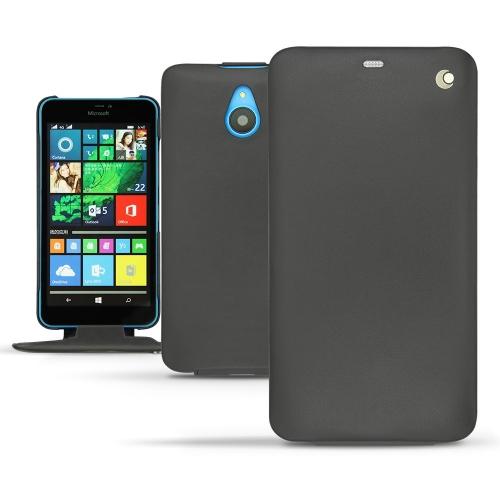 Housse cuir Microsoft Lumia 640 XL - 640 XL Dual Sim - Noir ( Nappa - Black )