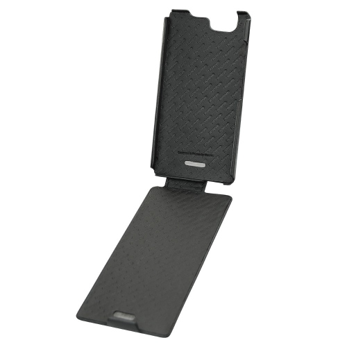 Wiko Ridge leather case