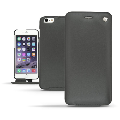 Apple iPhone 6 Plus leather case - Noir ( Nappa - Black )
