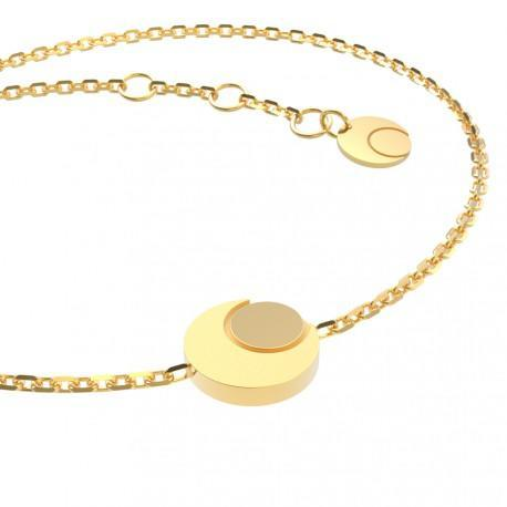 Children's gold bracelet