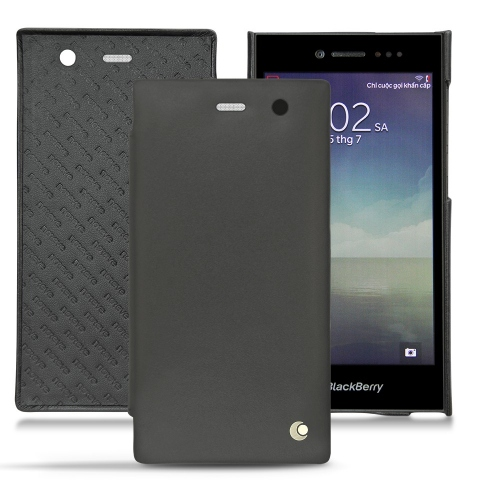 Blackberry Leap leather case