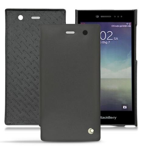 Housse cuir Blackberry Leap
