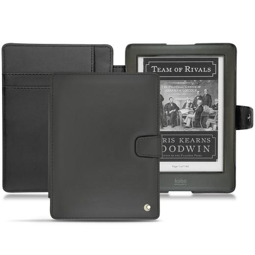 Kobo Glo HD leather case - Noir ( Nappa - Black )