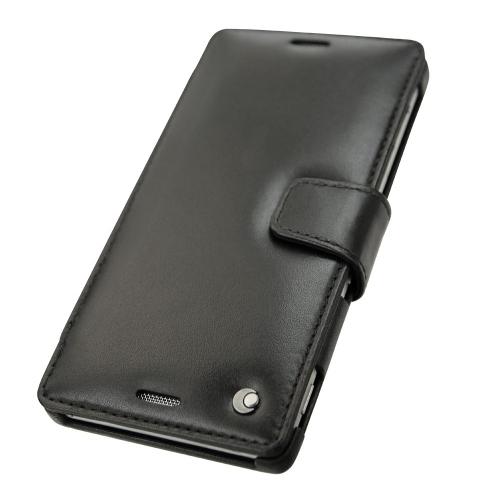 Housse cuir Sony Xperia M4 Aqua