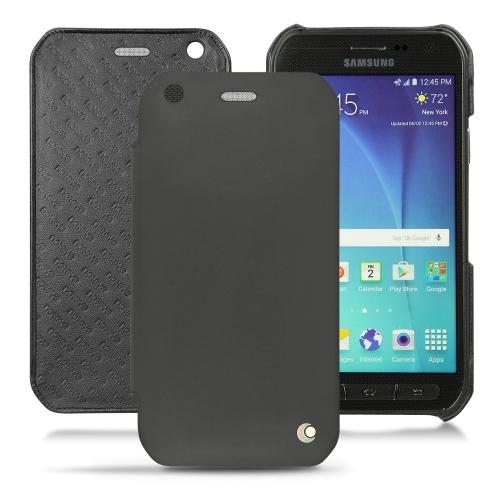 Housse cuir Samsung SM-G890 Galaxy S6 Active