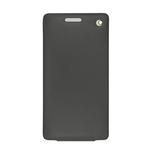 Housse cuir Sony Xperia C4