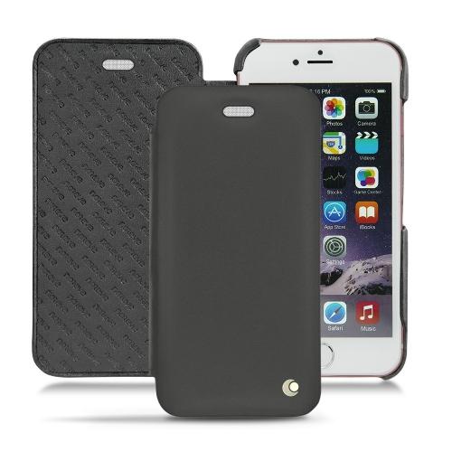 レザーケース Apple iPhone 6S Plus - Noir ( Nappa - Black )
