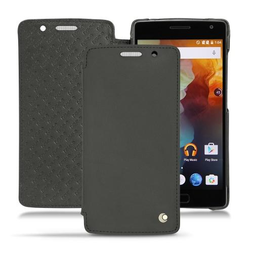 OnePlus Two leather case - Noir ( Nappa - Black )