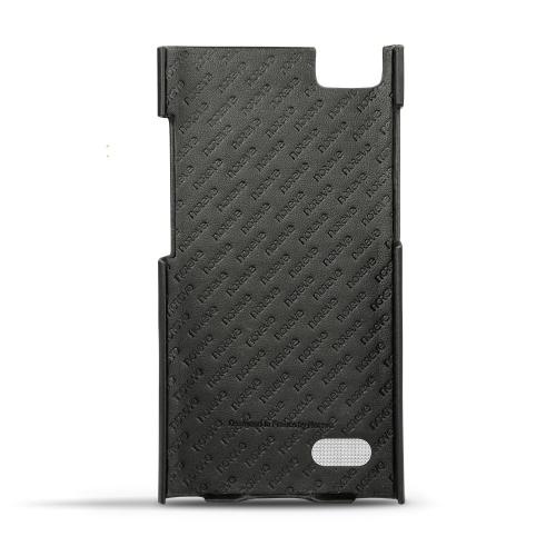 Coque cuir Blackberry Leap