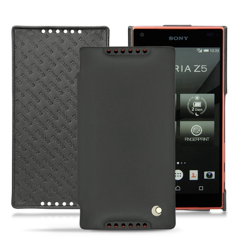Housse cuir Sony Xperia Z5 Compact