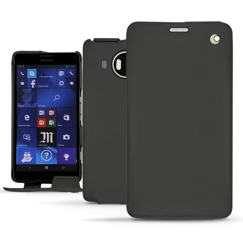 Housse cuir Microsoft Lumia 950 XL - 950 XL Dual Sim - Noir ( Nappa - Black )