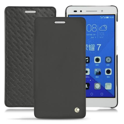 Housse cuir Huawei Honor 7