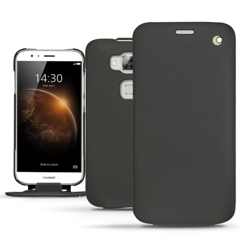 Housse cuir Huawei G8 - Noir ( Nappa - Black )