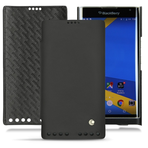 Housse cuir Blackberry Priv - Noir ( Nappa - Black )
