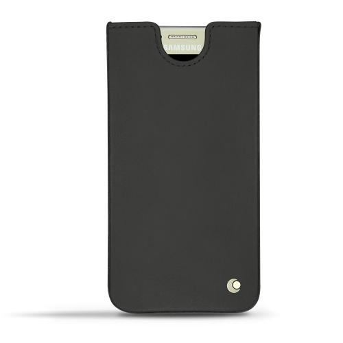 Samsung Galaxy S7 leather case - Noir ( Nappa - Black )