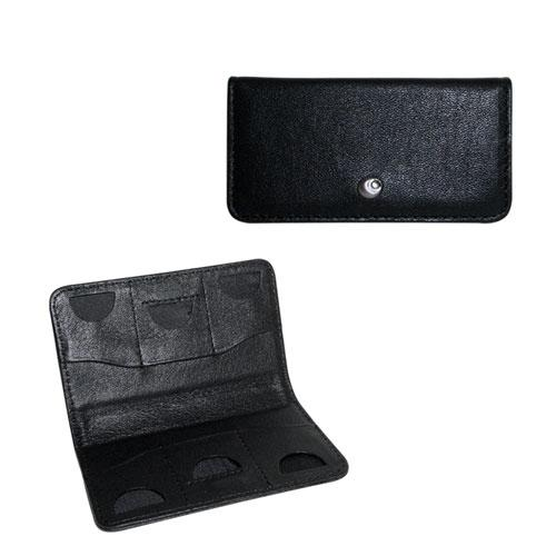 Leather keeper for memory cards SD and MMC