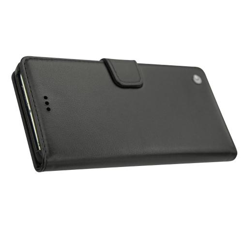 Housse cuir Huawei P9 Plus