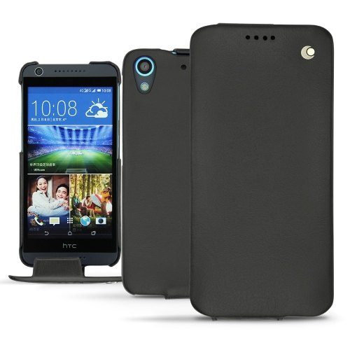 HTC Desire 626 leather case - Noir ( Nappa - Black )