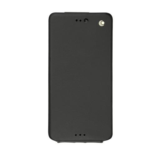 Housse cuir Sony Xperia X