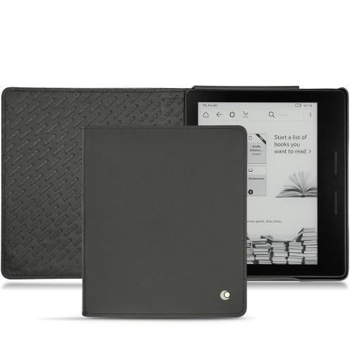 Amazon Kindle Oasis leather case - Noir ( Nappa - Black )