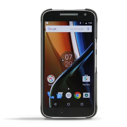 Motorola Moto G4 leather cover